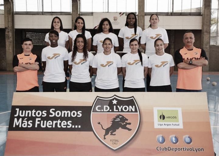 Club Deportivo Lyon, listo para la Copa Libertadores de futsal femenino