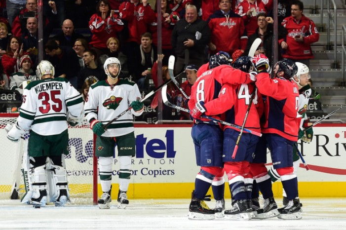 Washington Capitals Defeat Minnesota Wild 3-2