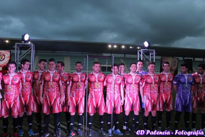 El CD Palencia presenta la camiseta más impactante del mundo del fútbol
