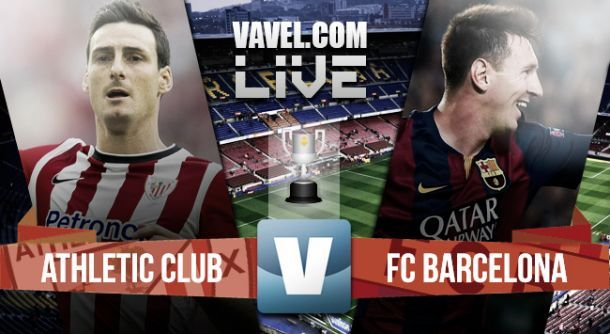 Risultato: Athletic Bilbao-Barcellona, finale coppa del re 1-3