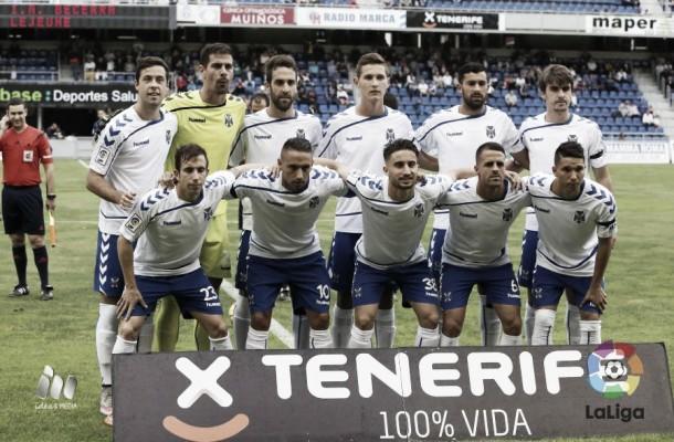 CD Tenerife - Girona: puntuaciones del Tenerife, jornada 15