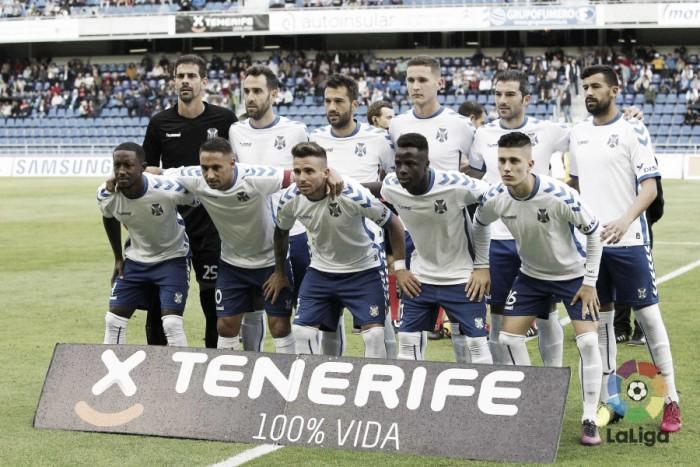 CD Tenerife - AD Alcorcón: puntuaciones del Tenerife, jornada 19 de Segunda División