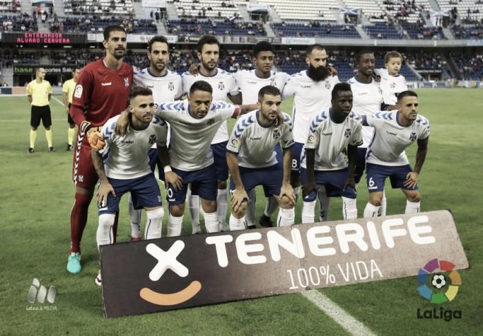 CD Tenerife - Cádiz CF: puntuaciones del Tenerife, jornada 10 de Segunda División