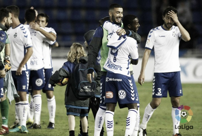 CD Tenerife - Córdoba CF: puntuaciones del Tenerife, jornada 22 de Segunda División