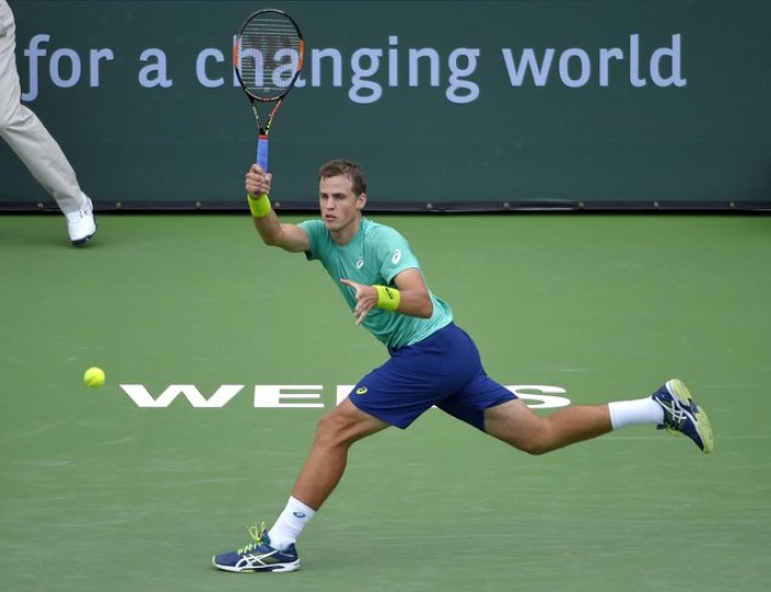ATP Indian Wells: Vasek Pospisil Topples Jared Donaldson In The First Round