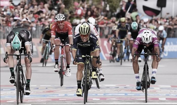 Giro d'Italia, Caleb Ewan vince al fotofinish ad Alberobello