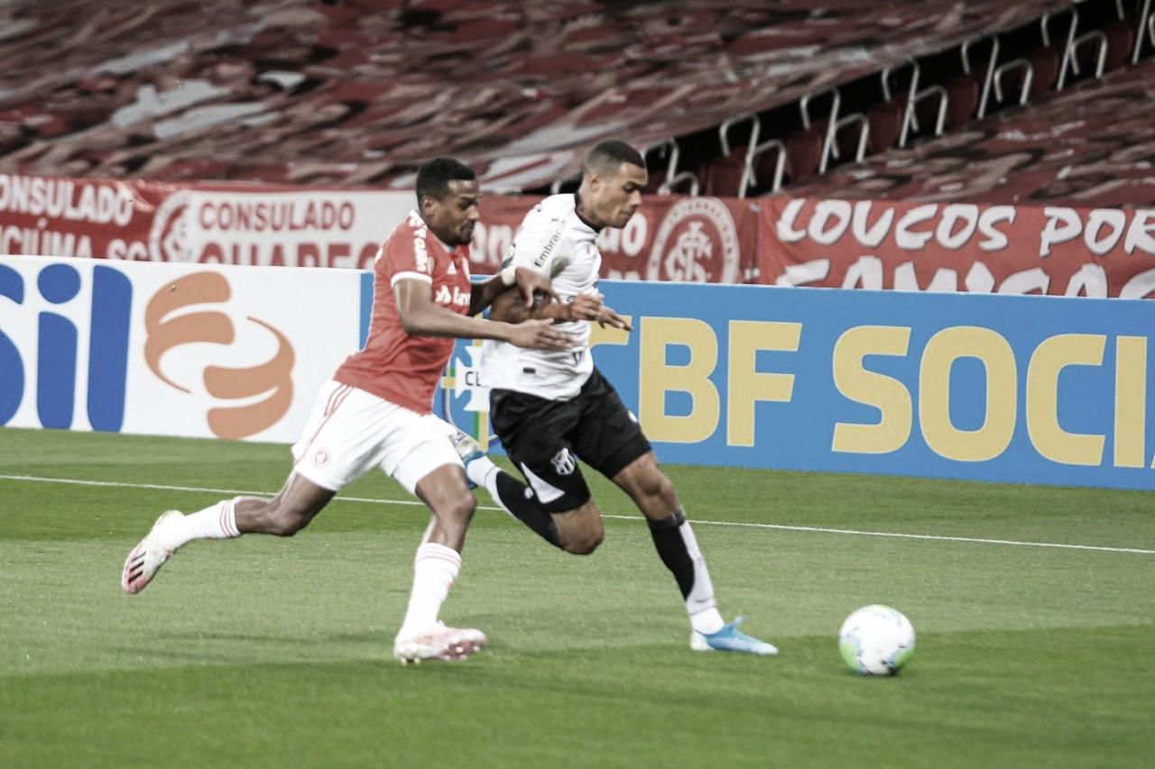Treinador auxiliar, Alexandre Faganello vê pontos positivos no Ceará mesmo após derrota