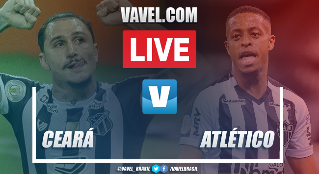 Gols e melhores momentos Ceará 2x2 Atlético-MG pelo Campeonato Brasileiro