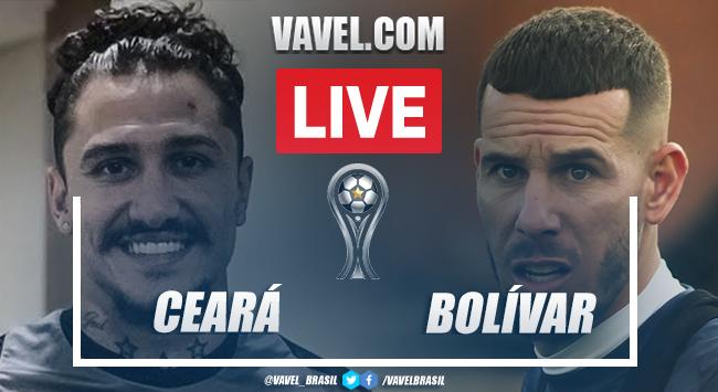 Gols e melhores momentos Ceará x Bolívar pela Sul-Americana (2-0)