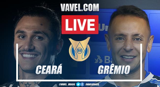 Gols e melhores momentos de Ceará 3x2 Grêmio pelo Campeonato Brasileiro