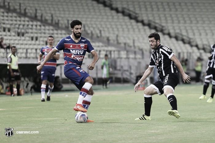 Com gols no segundo tempo, Fortaleza e Ceará empatam pelas quartas da Fares Lopes