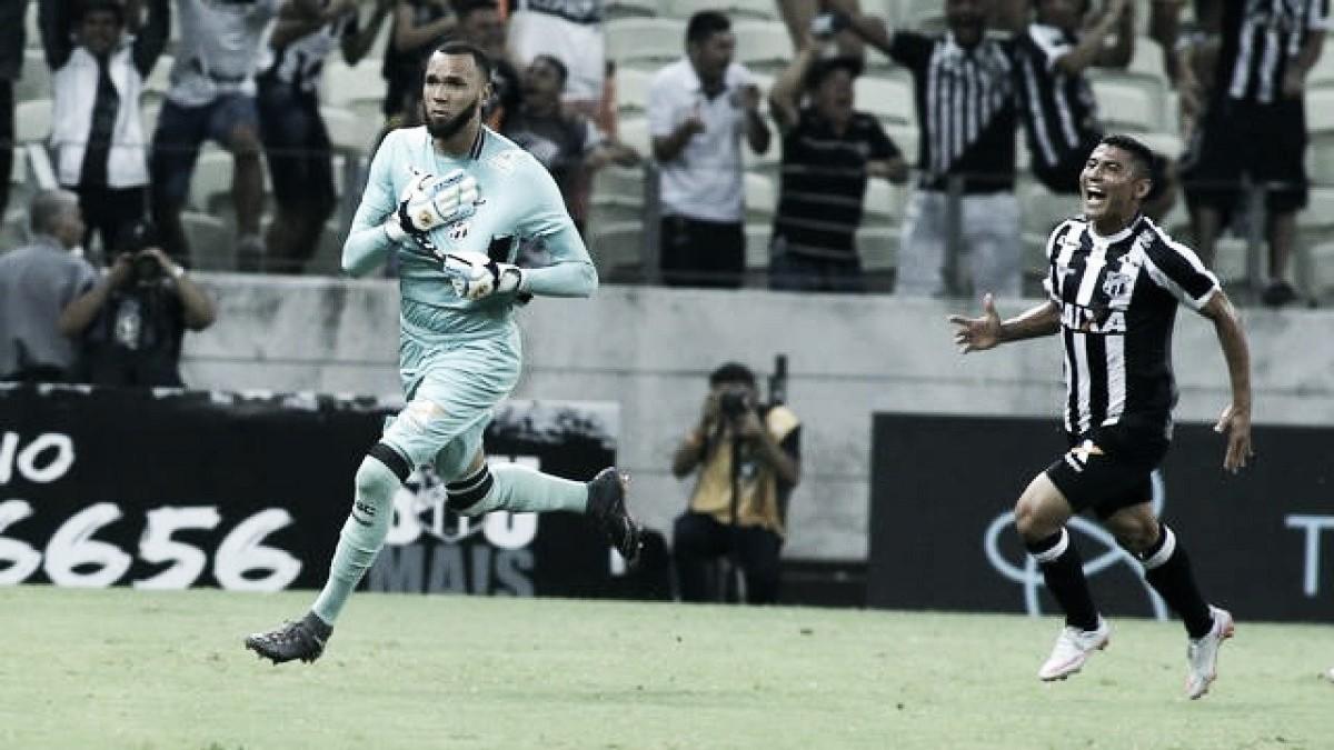 Com gol de goleiro, Ceará bate Corinthians e fica perto de deixar o Z-4