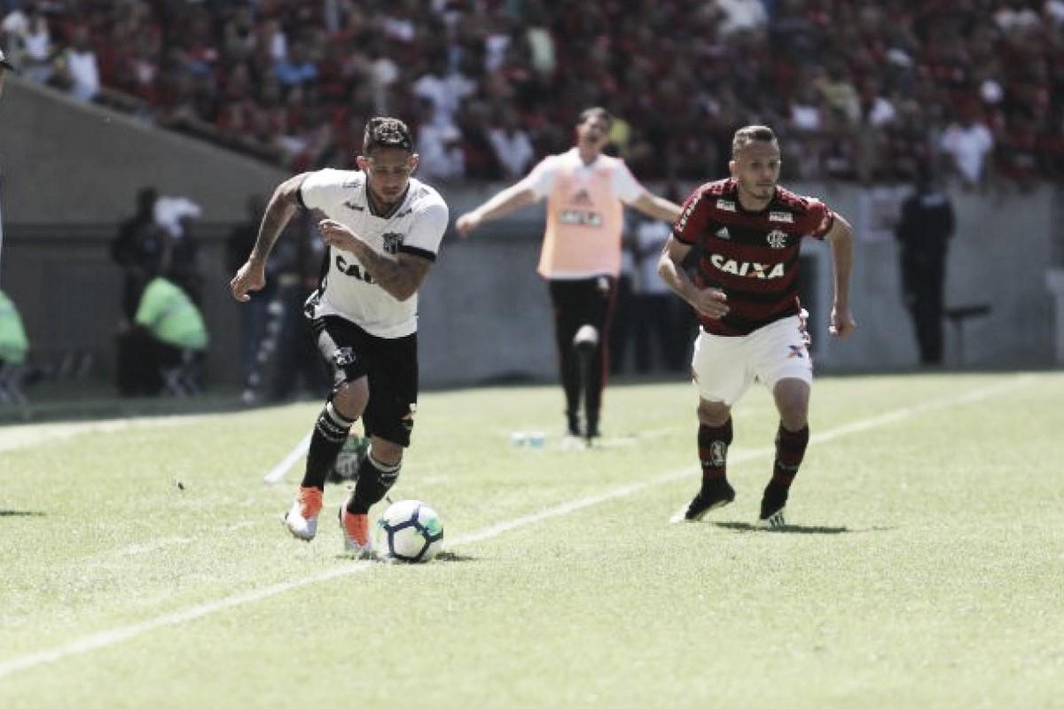 Decisivo, Leandro Carvalho faz gol para mãe flamenguista e revela aposta com Lisca
