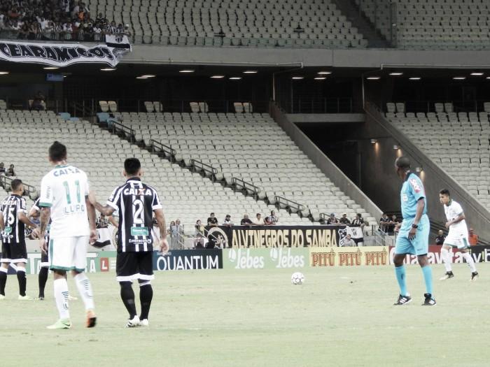 Ceará é melhor, mas vê estreante Edno empatar para América na Série B
