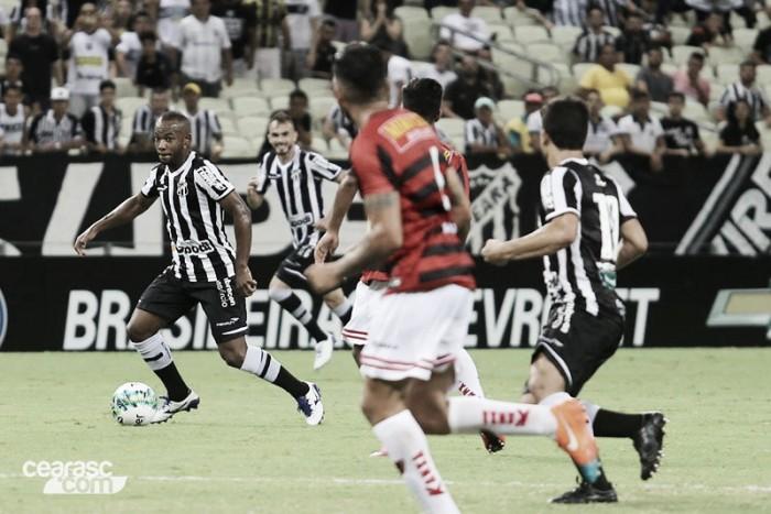 """Autor do gol da vitória do Ceará, Wescley pede sequência: """"Espero dar continuidade ao trabalho"""""""