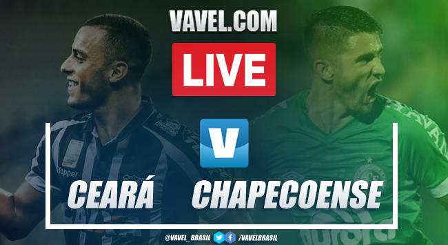 Resultado e gols Ceará 4x1 Chapecoense pelo Campeonato Brasileiro