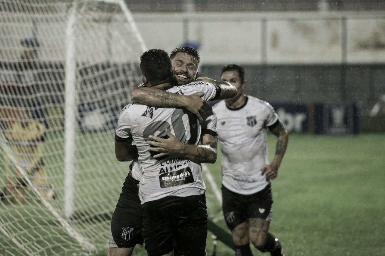 Rafael Sóbis desencanta, marca hat-trick e Ceará goleia River-PI pela Copa do Nordeste