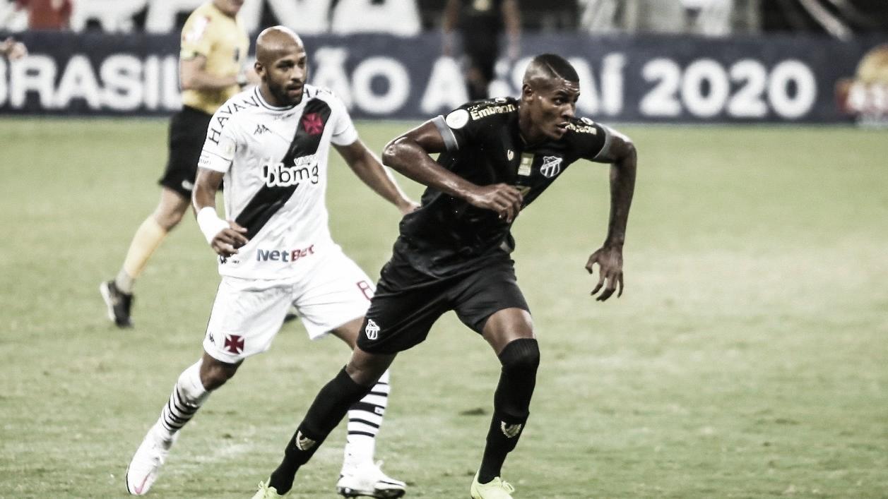 Gols e melhores momentos de Vasco 1 x 4 Ceará pelo Campeonato Brasileiro