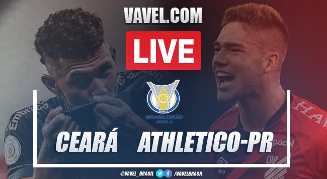 Gol e melhores momentos Ceará x Athletico-PRpelo Brasileirão (1-0)