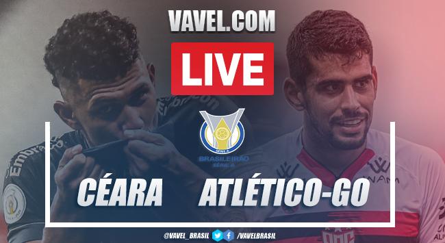 Gols e melhores momentos de Ceará 1 x 2 Atlético-GO pelo Campeonato Brasileiro 2020