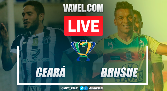 Ceará x Brusque AO VIVO: jogo em tempo real pela Copa do Brasil