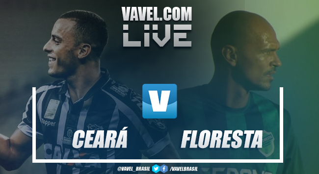 Resultado e gols Ceará x Floresta pelo Campeonato Cearense (3-0)