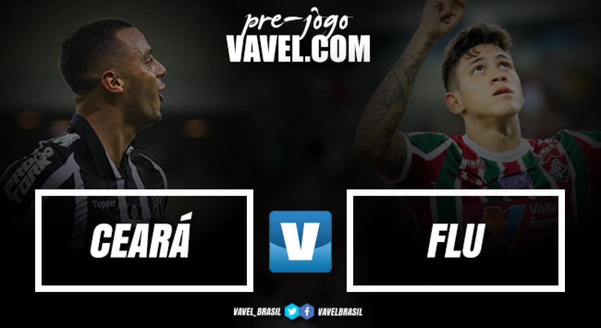 Lanterna, Ceará enfrenta embalado Fluminense no Presidente Vargas