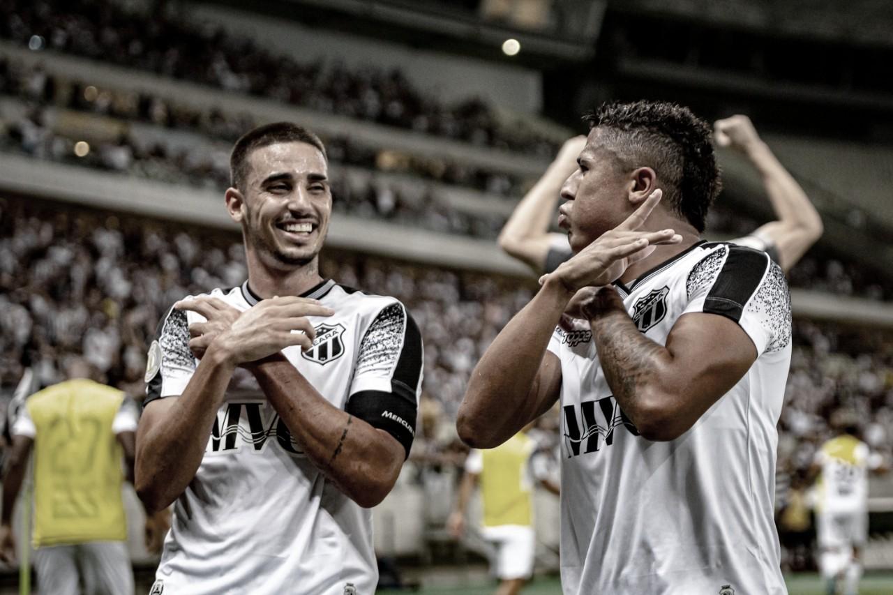 Ceará bate Fluminense em confronto direto e abre quatro pontos do Z-4