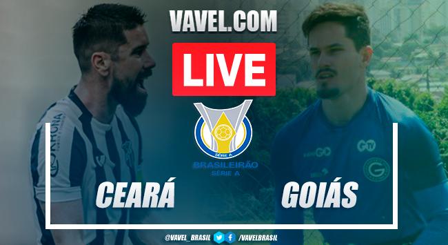 Gols e melhores momentos de Ceará 2x2 Goiás pelo Campeonato Brasileiro 2020