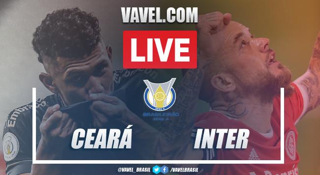 Gols e melhores momentos de Ceará 0x2 Inter pelo Campeonato Brasileiro