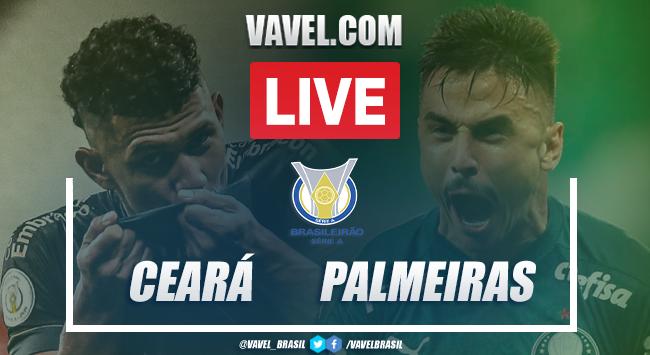 Gols e melhores momentos para Ceará 2x1 Palmeiras pelo Campeonato Brasileiro