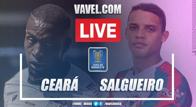 Gols e Melhores momentos de Ceará 3 x 0 Salgueiro