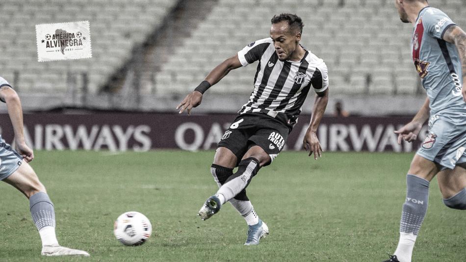 Em jogo morno, Ceará erra muitos passes e empata com Arsenal de Sarandí