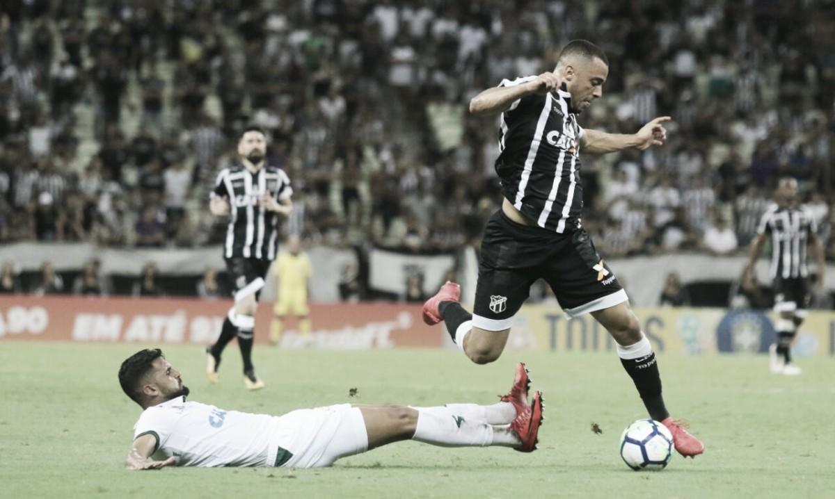 Ceará busca empate nos acréscimos diante do América-MG e segue sem vencer no Brasileiro