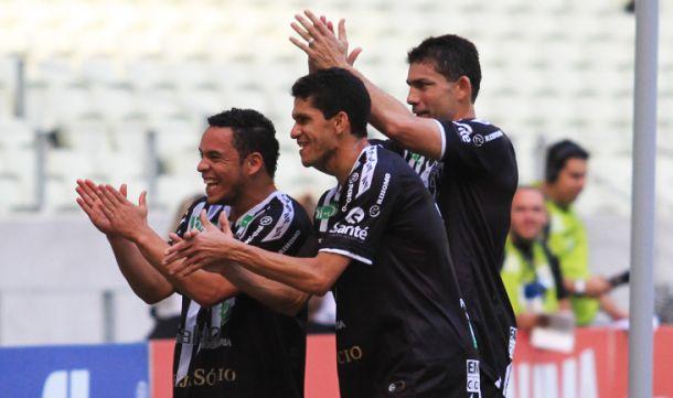 Com três gols de Magno Alves, Ceará goleia o ABC