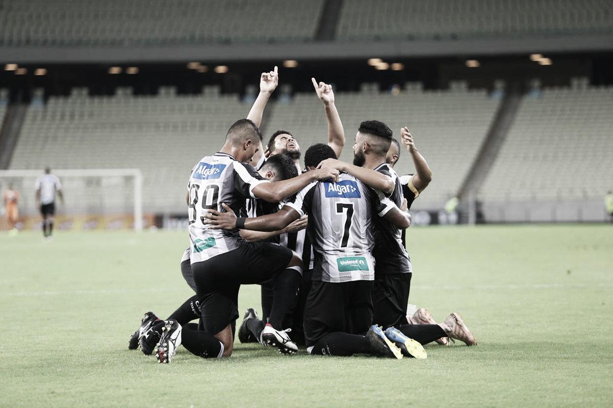 Ceará atropela Sampaio Corrêa e estreia bem na Copa do Nordeste