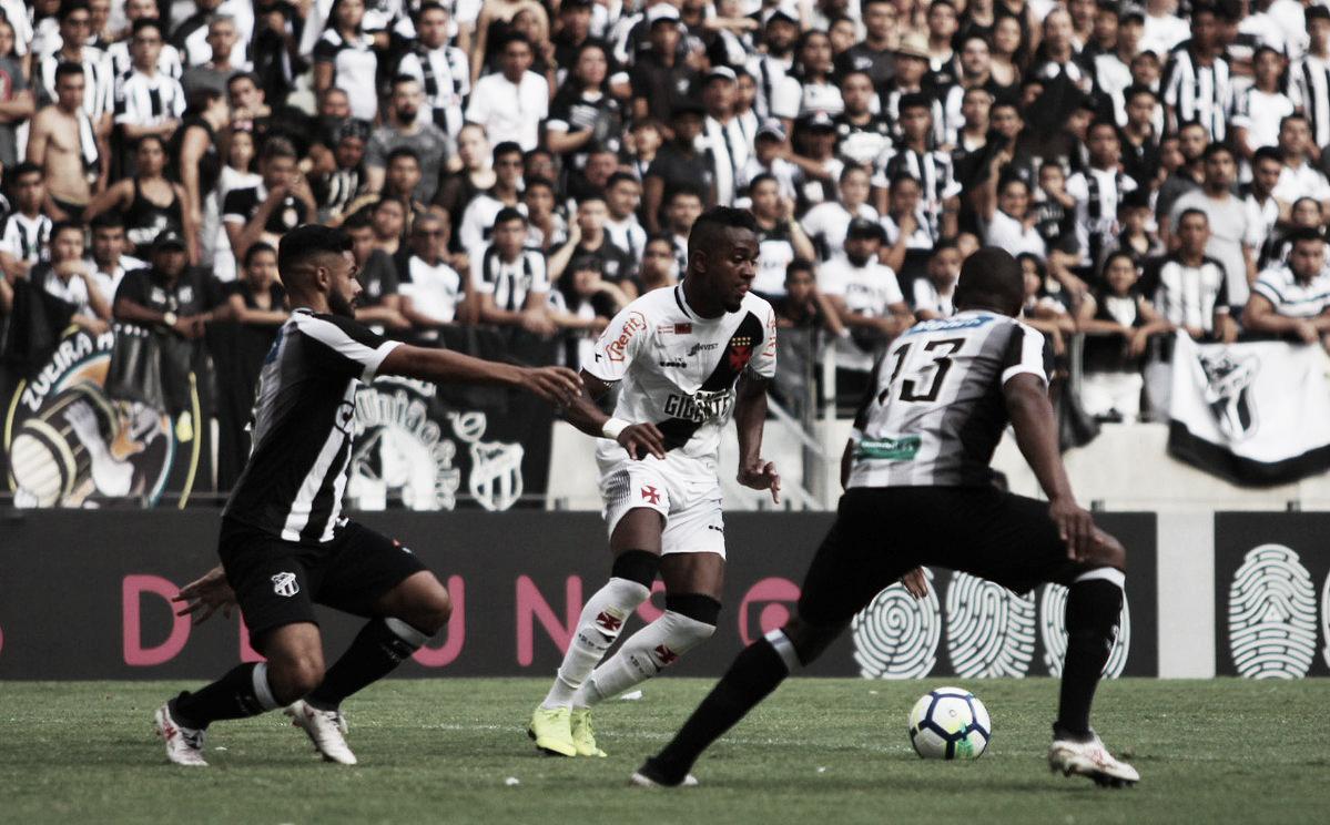 Vasco empata com Ceará no Castelão e garante permanência na Série A