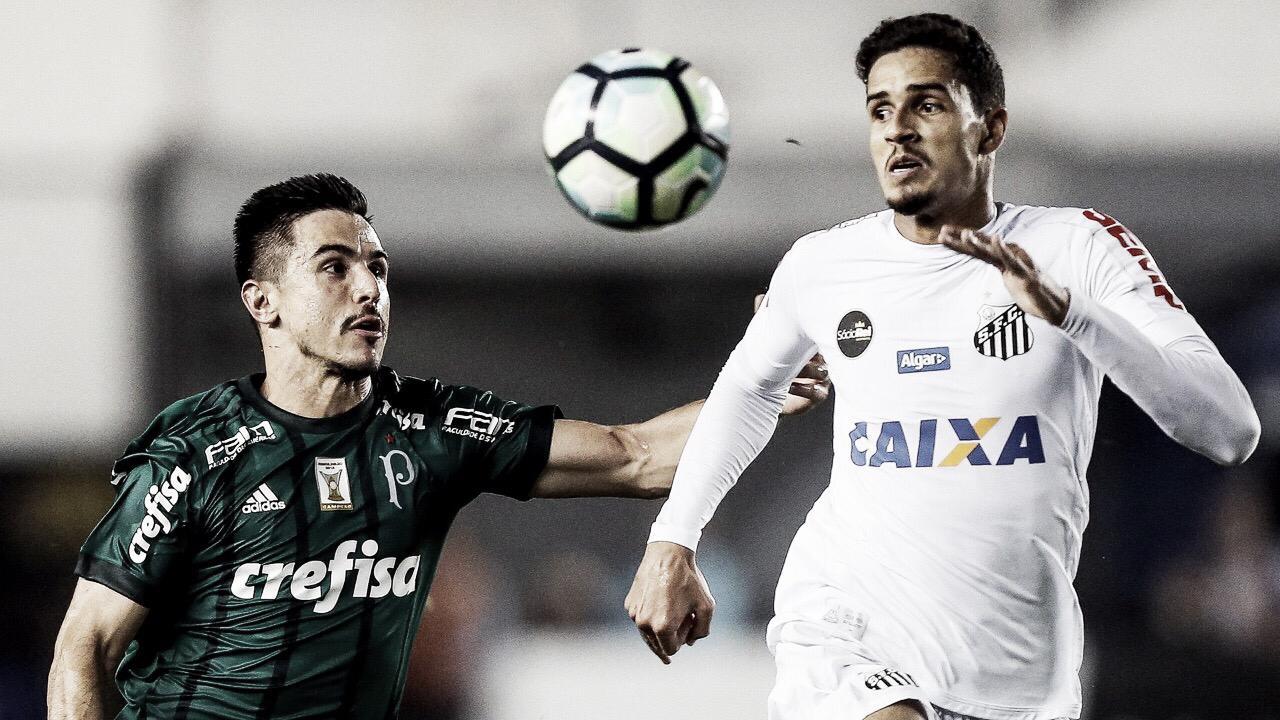 Em busca da liderança do Brasileirão, Palmeiras e Santos se enfrentam no Pacaembu
