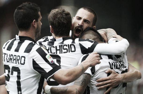 Juventus Campione d'Italia. Battuta 1-0 la Samp
