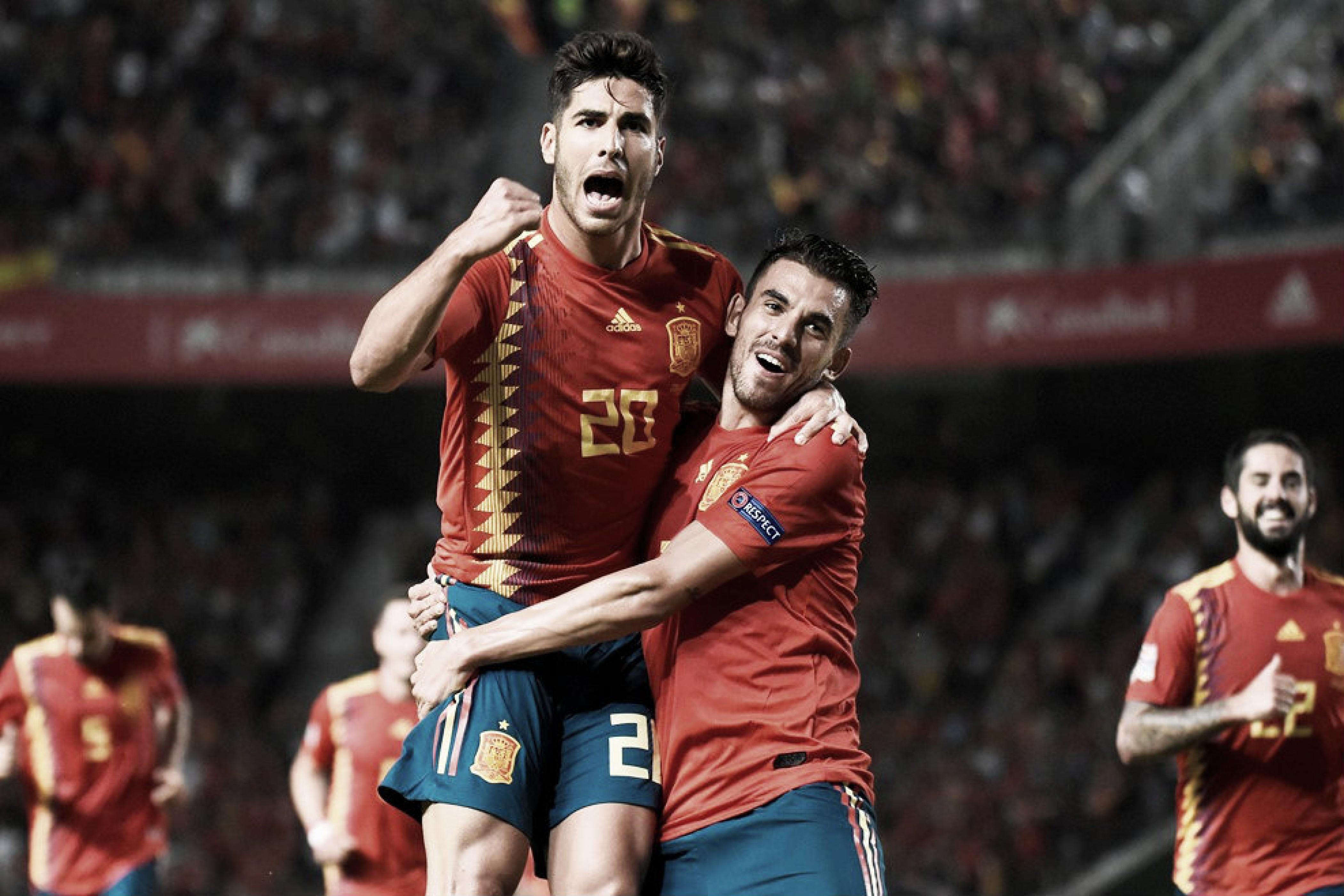 Ceballos, Saúl, Isco y Asensio renuevan la magia de una ilusionante España