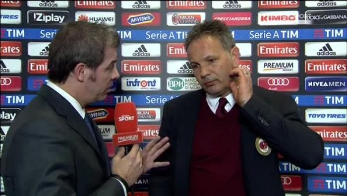 """Milan - Lazio finisce 1-1, Mihajlovic a fine partita: """"Altra occasione persa"""""""