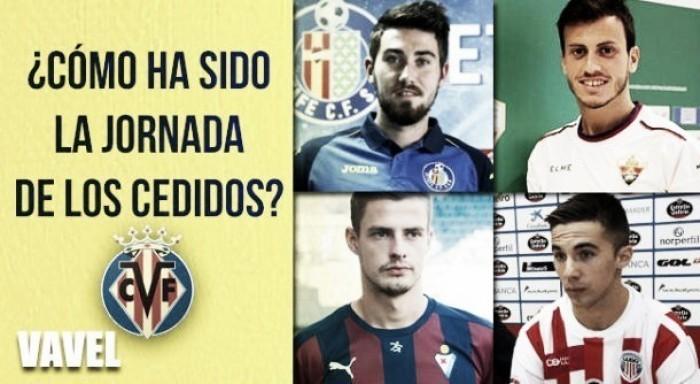 Pésima jornada para los cedidos del Villarreal