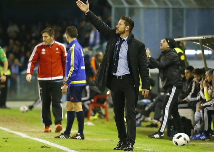 "Simeone: ""Ha sido un partido muy abierto"""