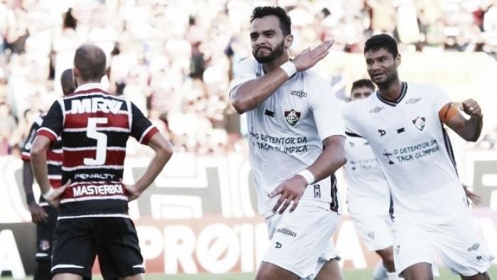 Henrique Dourado: esperança da instabilidade ofensiva do Fluminense chegar ao fim