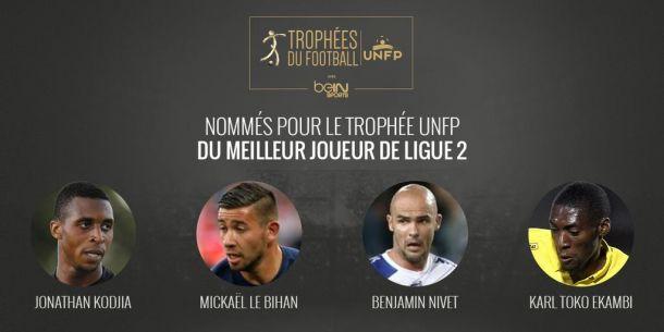 Ligue 2 : la liste des Trophées UNFP dévoilée pour les joueurs de champ !