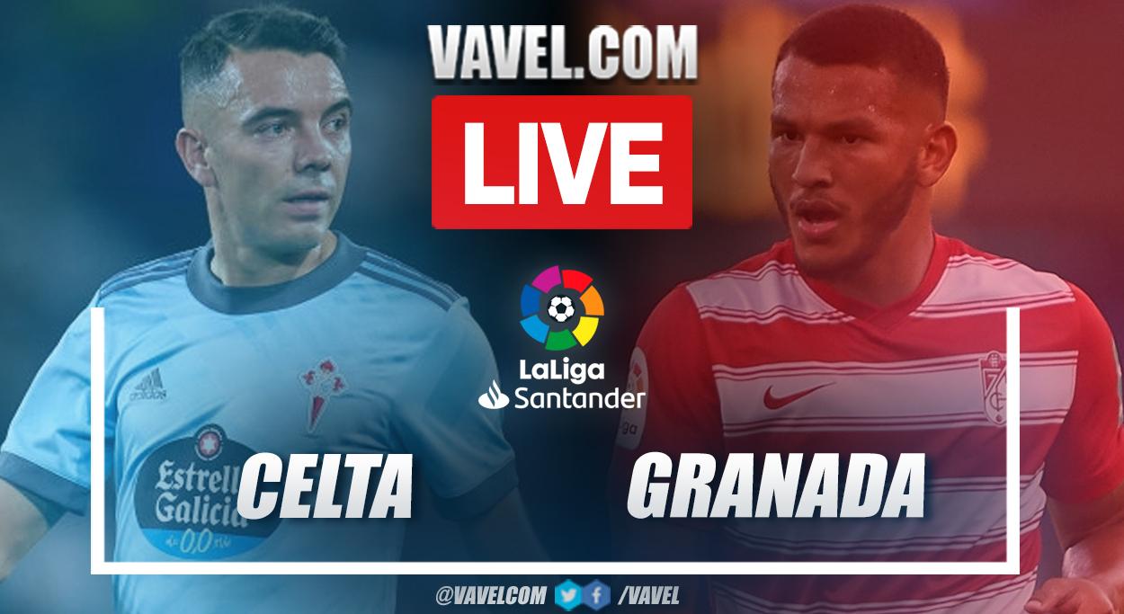 Highlights and goal: Celta 1-1 Granada in LaLiga 2021-22