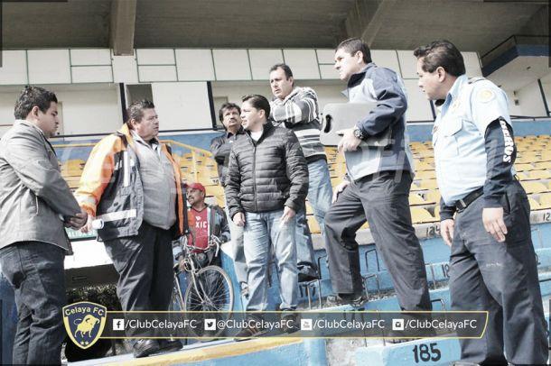 Celaya quiere máxima seguridad en el duelo ante Necaxa