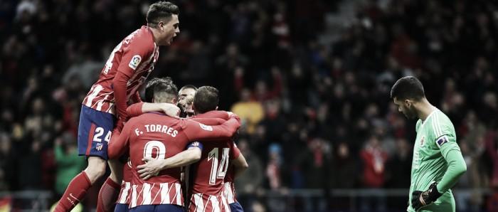 El Atlético sigue creyendo... y ganando