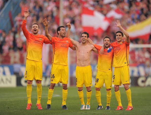 Na rodada do título, Barcelona vence Atlético de Madrid fora de casa