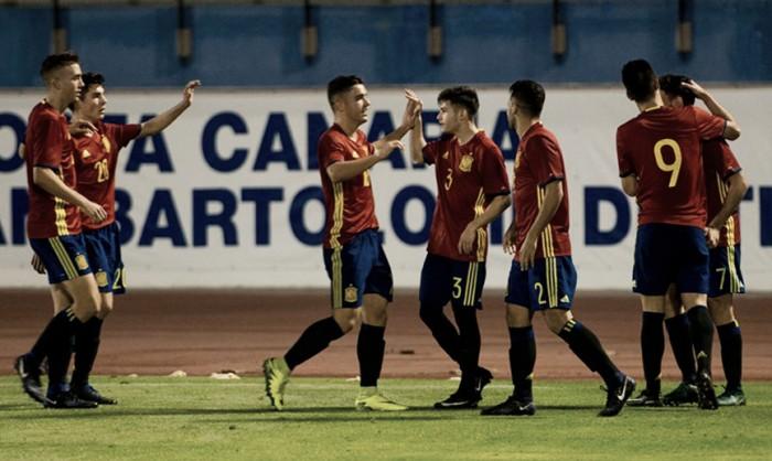 España sub-19 acaricia la Copa Atlántico